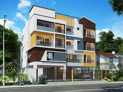 2 BHK flats for sale in East Tambaram